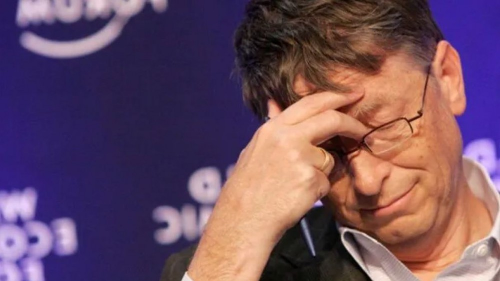 Bill Gatesin auringonpimennyshanke meni kiville