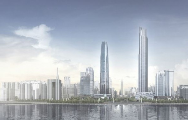Kiinassa rakennetaan nyt talot pilviin
