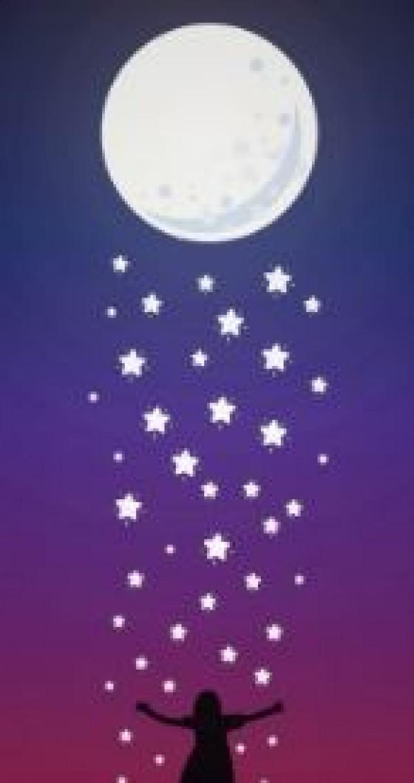 Kuu synnyttää pikkukuita
