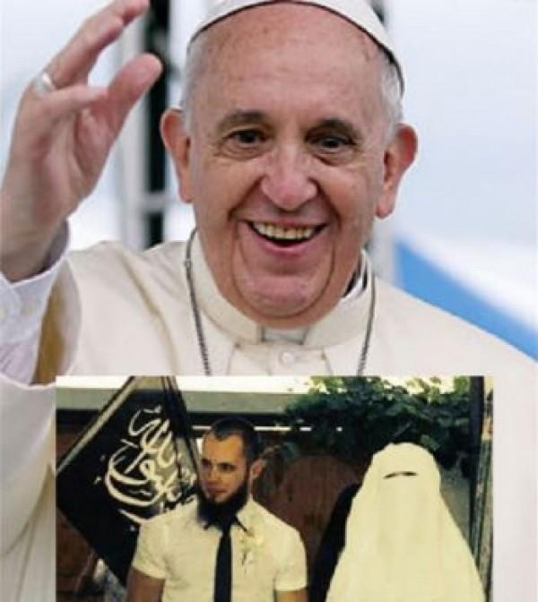 Paavilla on asiaa