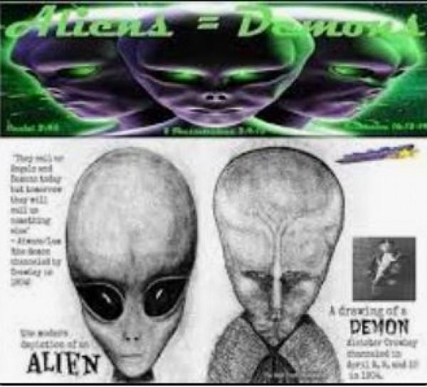 Tutkijat: UFO't ovatkin demoneja!